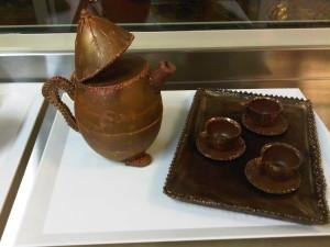 Servizio da caffè in cioccolato