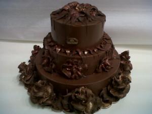 Scultura di cioccolato
