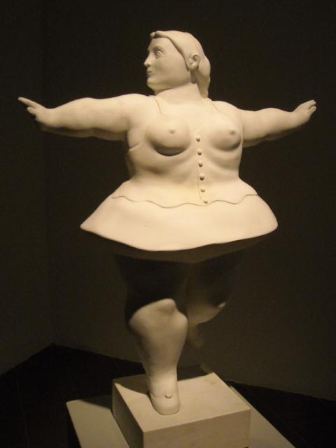 Ballerina vestita di Botero