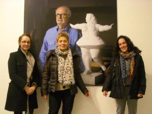 Con Cristina Felloni