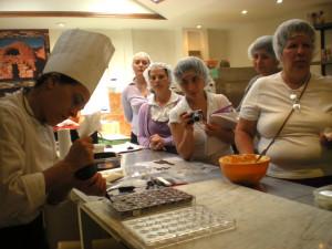 Costa Rica San Jose demo sul cioccolato