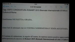 Ammissione a RomArt