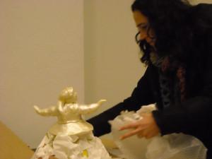 Nicoletta Rustici e la sua ballerina