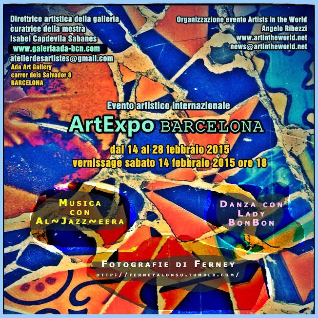 Invito ArtExpo Barcellona